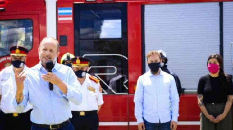 Entregaron subsidios a Bomberos de Lomas de Zamora