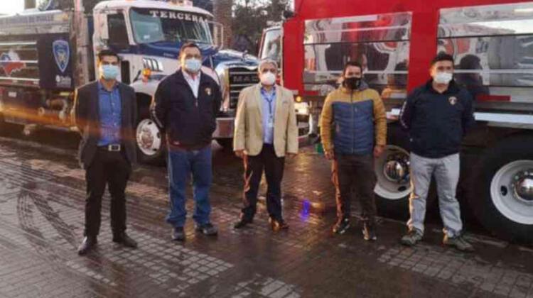 Bomberos de Ovalle cuenta con nuevo camión aljibe
