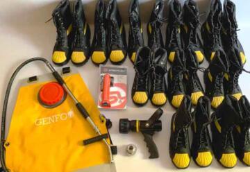 Nuevo equipamiento para Bomberos Voluntarios de San Luis