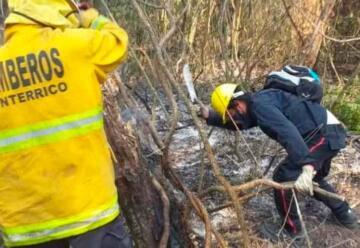 Surgen internas entre bomberos voluntarios y la provincia