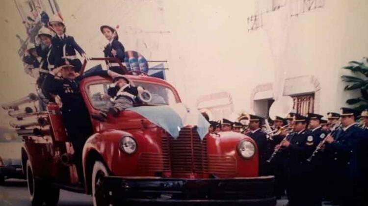 Bomberos de la Policía de Corrientes celebraron sus 84 años de servicio