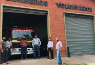 Ampliación del Cuartel de Bomberos Voluntarios de Cañada Seca