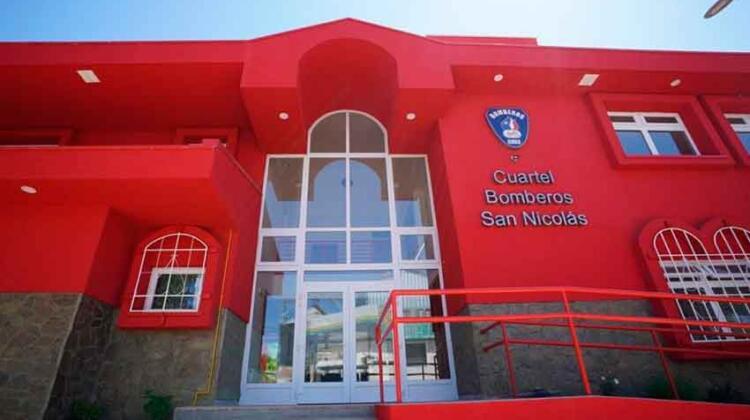 Inauguran nuevo cuartel de Bomberos de San Nicolás