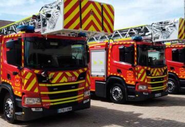 25 vehículos pesados para ampliar la flota de Bomberos