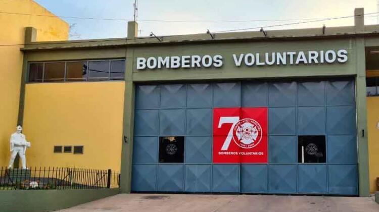 Bomberos Voluntarios de Arrecifes festejaron sus 70 años