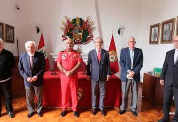 Sector privado formó patronato nacional pro bomberos