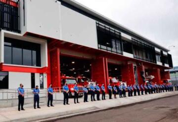 Bomberos de Costa Rica inauguró nuevas estaciones