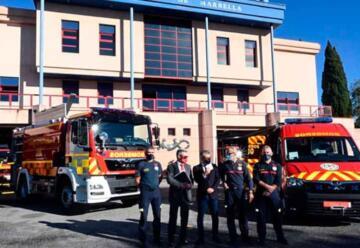 Nuevos vehículos para el Cuerpo de Bomberos de Marbella