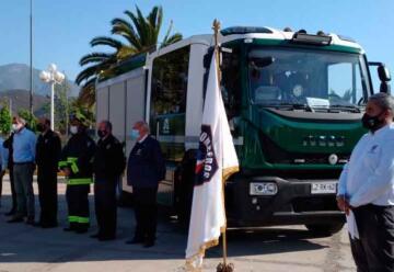 Bomberos de Melipilla recibe moderno material mayor