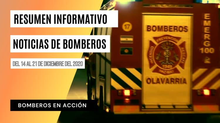BOMBEROS EN ACCIÓN – Resumen informativo N.º 14