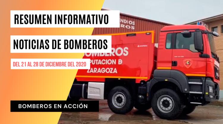 BOMBEROS EN ACCIÓN – Resumen informativo Nº 15