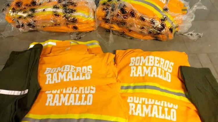 Más equipamiento para Bomberos Voluntarios de Ramallo