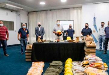 Bomberos Voluntarios de Chaco recibieron equipamientos
