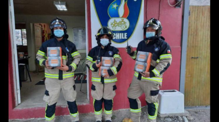Brigada de Bomberos de Pedregal recibe donativo