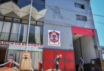 Reparan el playón de los bomberos de Escobar