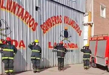Bomberos Voluntarios La Banda festejó sus 48 años de vida