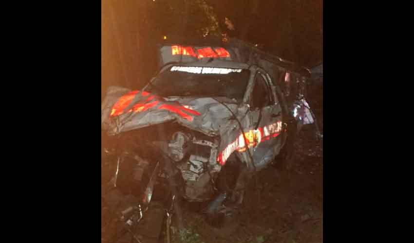 Una llamada falsa deja el saldo de un bombero fallecido y otro herido