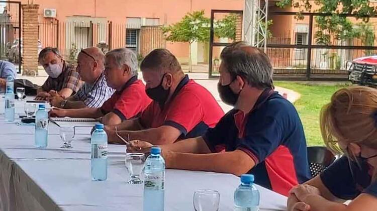 Bomberos de Tucumán se reunieron con autoridades del Consejo de Federaciones