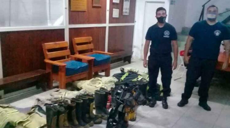 Donación a Bomberos de Gobernador Martínez
