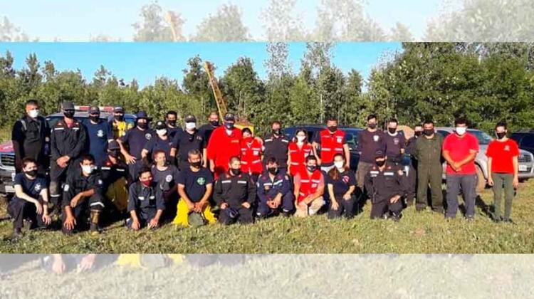 Los Bomberos Voluntarios de Escobar continúan capacitándose