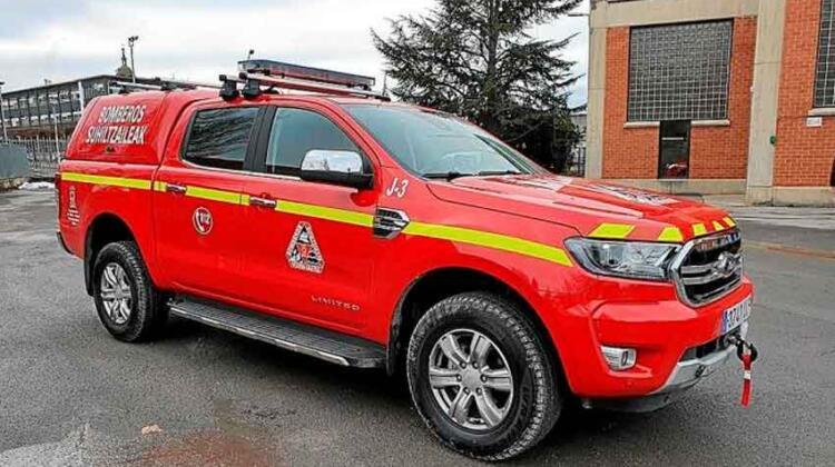 Bomberos de Vitoria-Gasteiz incorpora un nuevo vehículo a su flota