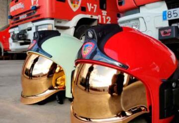 Nuevos y mejores cascos para los Bomberos de Albacete