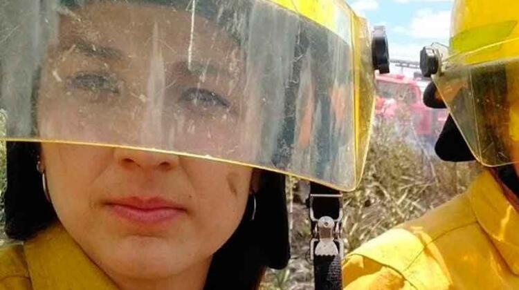 Una bombero de Larroque salvó la vida de un compañero bombero