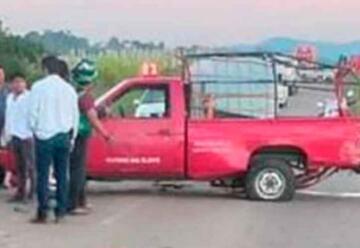 Pierde la vida un bombero en accidente en Tuxtepec