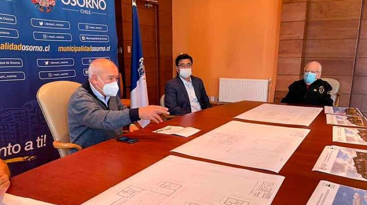 Sexta Compañía de Bomberos de Osorno tendrá nuevo cuartel