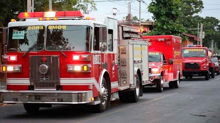 Juigalpa recibe tres nuevos vehículos de emergencia