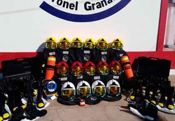 Nuevo equipamiento para Bomberos de Coronel Granada