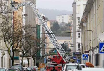 El PP pide una nueva escalera para los bomberos de Ferrol