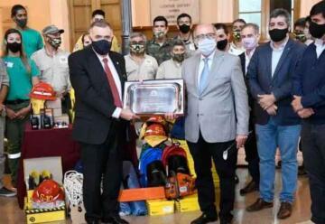 Bomberos de San Javier recibieron nuevo equipamiento