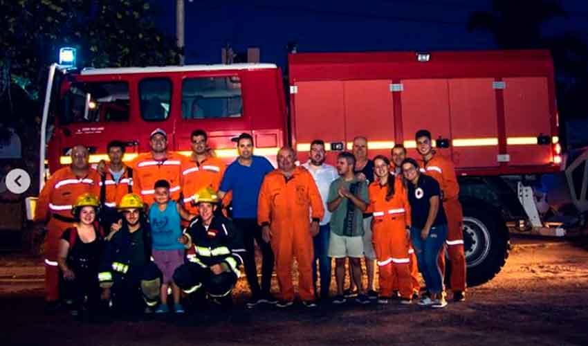 Bomberos Voluntarios de Alicia con nueva unidad