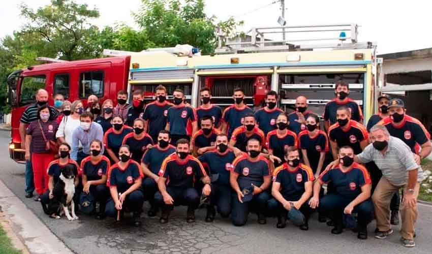 Bomberos de Magdalena adquirieron una nueva unidad