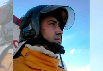 Murió un Bombero que combatía los incendios en El Hoyo