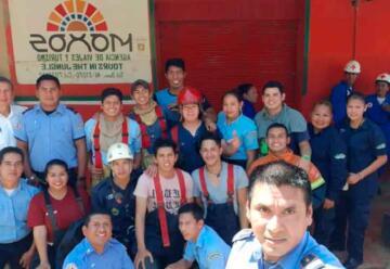 Bomberos Voluntarios cumplieron 17 años de labor en Trinidad