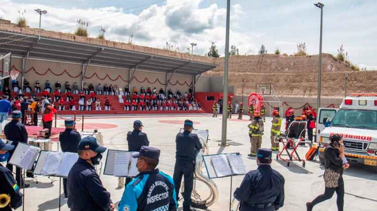 Bomberos Latacunga inauguró su nueva compañía