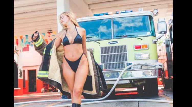 Polémica: Graban video de mujer en sede de bomberos en Cancún