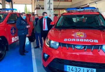 Nuevos vehículos de Bomberos para incendios y rescate