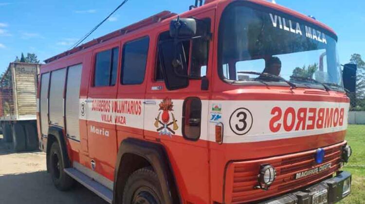 Bomberos Voluntarios de Santa Isabel adquirió una Autobomba