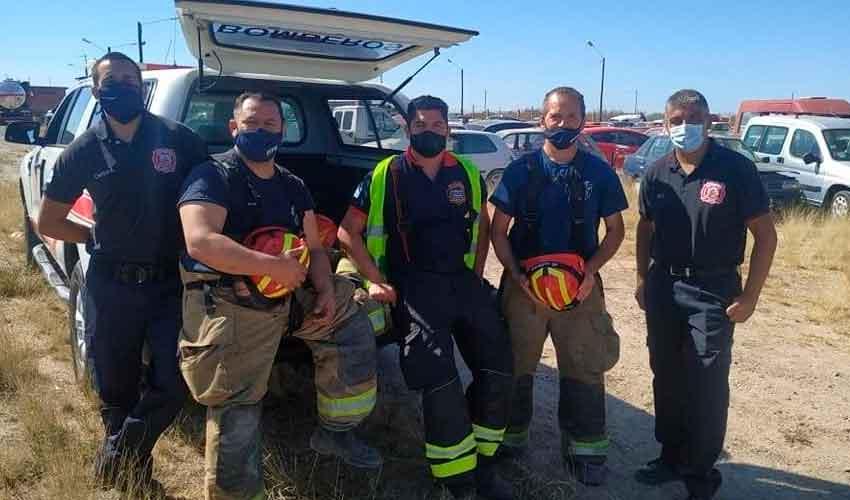 Nuevos bomberos voluntarios se suman a los cuarteles de la zona