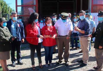 Bomberos de Puerto Ibáñez cuenta con nueva sala de máquinas