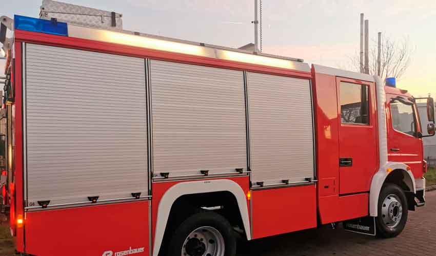 Bomberos Voluntarios de Alberti adquirió nuevo autobomba