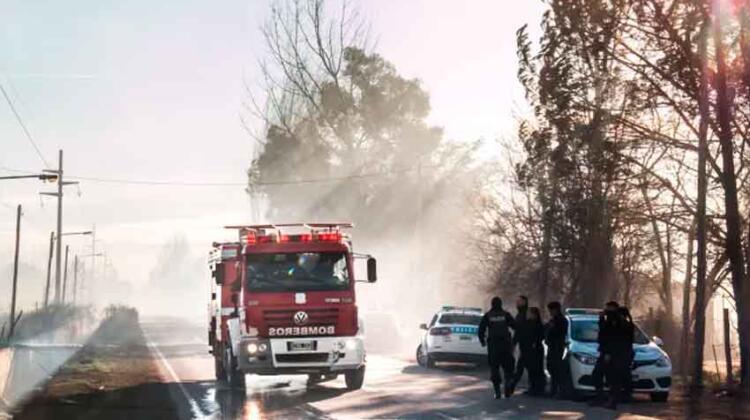Piden la urgente asignación de un camión de bomberos