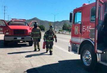 Se incendio una cisterna de bomberos que se dirigía a una emergencia