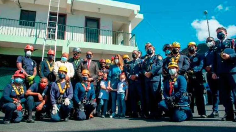 El Cuerpo de Bomberos celebran 93 años de fundación