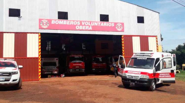 Bomberos Voluntarios de Oberá restauraron Unidad de Rescate