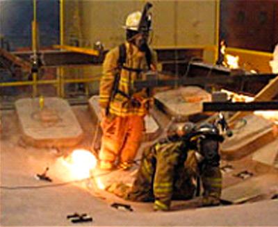 Construcciones ligeras y la seguridad del bombero