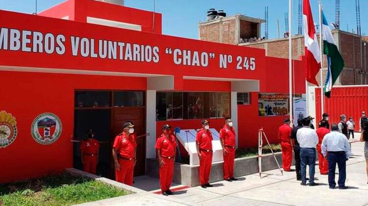 La Libertad tiene una nueva compañía de bomberos